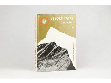 Arno Puškáš - Vysoké Tatry: horolezecký sprievodca X. (1989)
