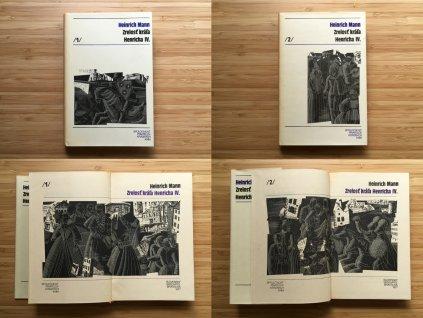 Heinrich Mann - Zrelosť kráľa Henricha IV., 1. a 2. diel (1977)