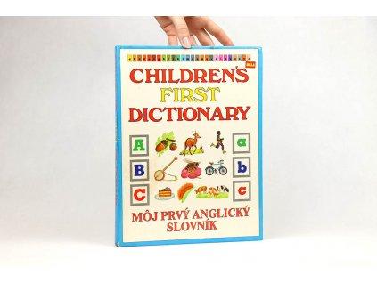 Children's first dictionary / Môj prvý anglický slovník (1990)