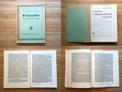 Albína Dratvová - Filosofie a přírodovědecké poznání (1946)