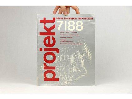Projekt, revue slovenskej architektúry 7/88