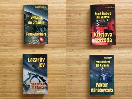Frank Herbert - Pandora /celý cyklus - 4 knihy/ (2005-2007)