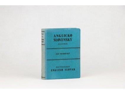 Jan Vilikovský - Anglicko-slovenský slovník (1946)