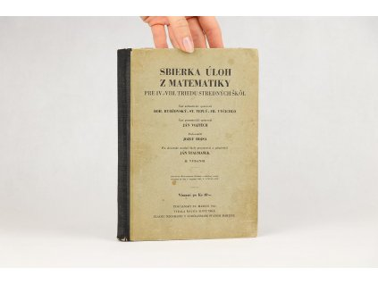 Sbierka úloh z matematiky (1943)