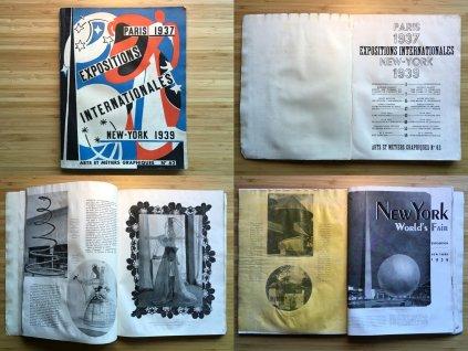 Arts et Métiers Graphiques: Expositions Internationales - Paris 1937 - New York 1939