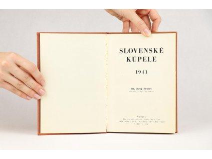 Juraj Hensel - Slovenské kúpele (1941)