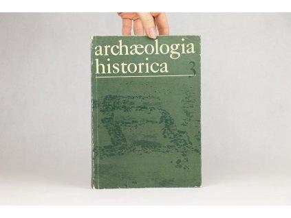 Archaeologia historica 3 (1978)