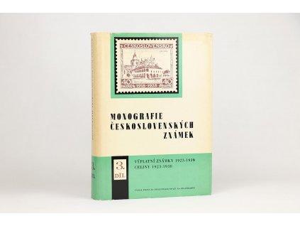 Monografie československých známek, díl III.  (1979)