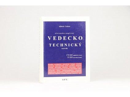Slovensko-anglický vedecko-technický slovník (1996)