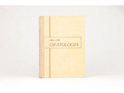 Michal Gaváč - Grafologia (1947)
