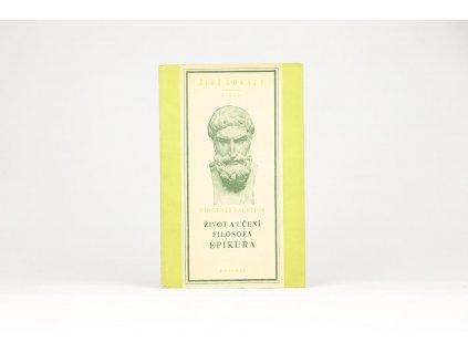 Diogenes Laertios - Život a učení filosofa Epikura (1952)