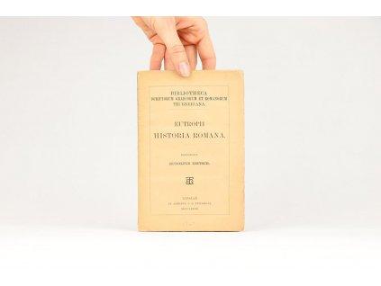 Henricus Rudolfus Dietsch - Eutropii Breviarium Historiae Romanae (1883)
