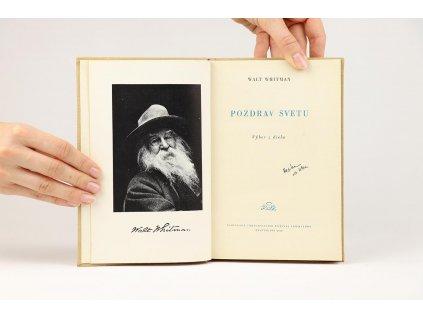 Walt Whitman - Pozdrav svetu (1956)
