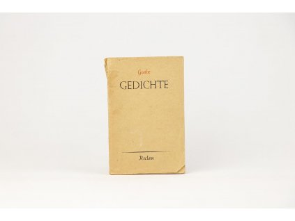 Johann Wolfgang Goethe - Gedichte (1945)