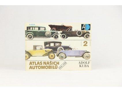 Adolf Kuba - Atlas našich automobilů 2: 1914-1928 (1988)