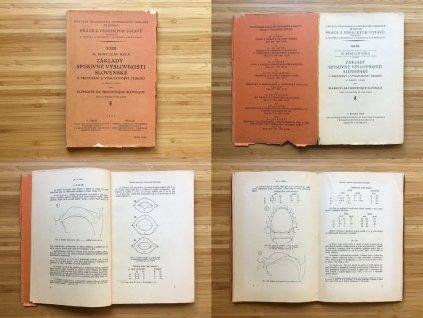 Bohuslav Hála - Základy spisovné výslovnosti slovenské a srovnání s výslovností českou (1929)