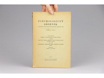 Psychologický sborník, ročník II., číslo 2 (1947)