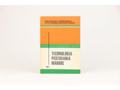 Technológia pestovania marhúľ (1987)
