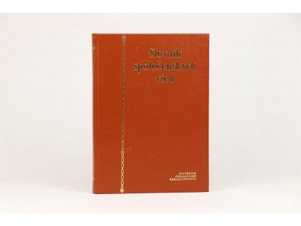 Slovník spoločenských vied (1997)