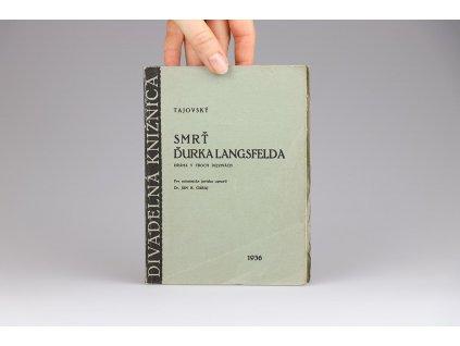 Tajovský - Smrť Ďurka Langsfelda (1936)
