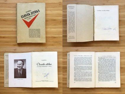 B. Kafka - Člověk zítřka: Kultura rozumu a vůle (1947)