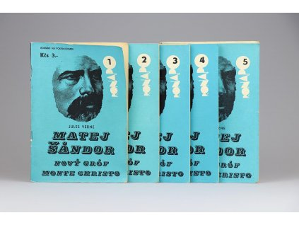 Jules Verne - Matej Šándor: Nový gróf Monte Cristo 1-5 (1967)