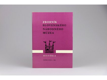 Zborník Slovenského národného múzea: História 28 (1988)