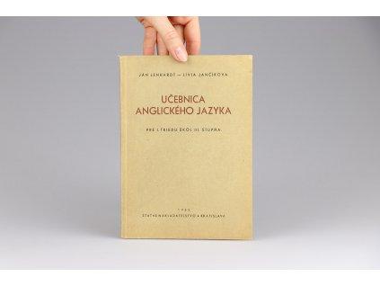Ján Lenhardt, Lívia Jančíkova - Učebnica anglického jazyka (1952)