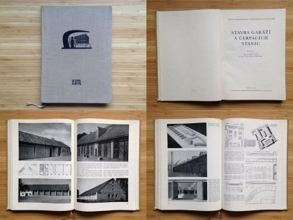Rolf Vahlefeld, Friedrich Jacques - Stavba garáží a čerpacích stanic (1959)