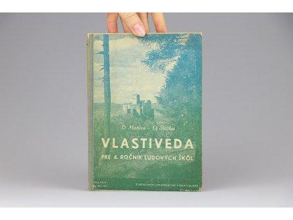 D. Manica, O. Stojka - Vlastiveda pre 4. ročník ľudových škôl (1947)