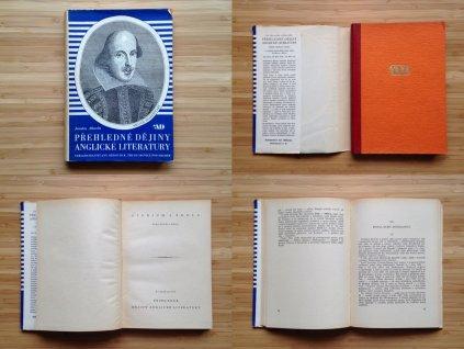 Jaroslav Albrecht - Přehledné dějiny anglické literatury (1947)