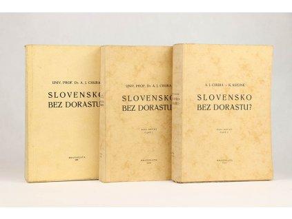 Alojz J. Chura - Slovensko bez dorastu? 1, 2 (1936-1939)