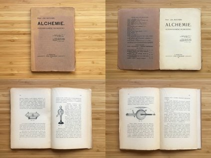 Prof. Jan Matzner - Alchemie. Hledání kamene mudrckého (1909)