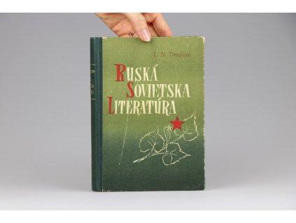L. N. Timofejev - Ruská sovietska literatúra (1952)