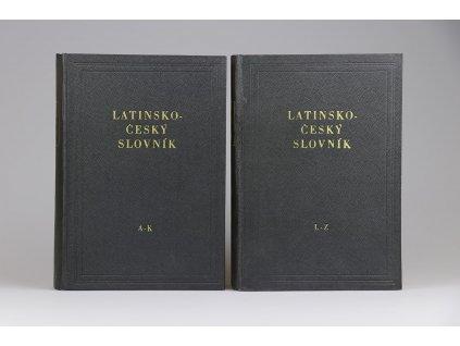 Latinsko-český slovník A-K, L-Z (1955)