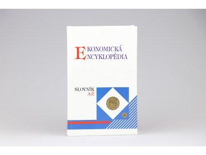 Ekonomická encyklopédia, slovník A-Ž (1995)