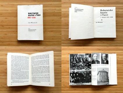 Ján Mlynárik - Robotnícke hnutie v Turci 1918-1938 (1970)