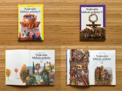 Jozef Pavlovič - Najkrajšie biblické príbehy 1, 2 (1991, 1992)