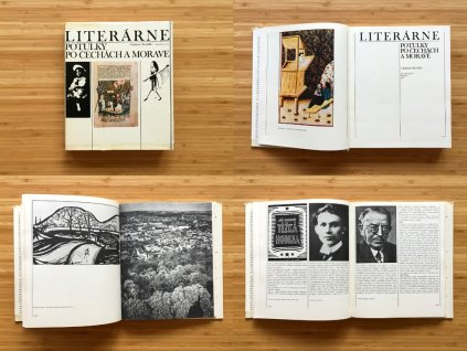 Vladimír Kovářík - Literárne potulky po Čechách a Morave (1983)