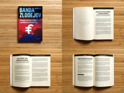 Ignác Milan Krajniak - Banda zlodejov: Šokujúca pravda o oligarchoch a politikoch na Slovensku + Pentastory (2015)