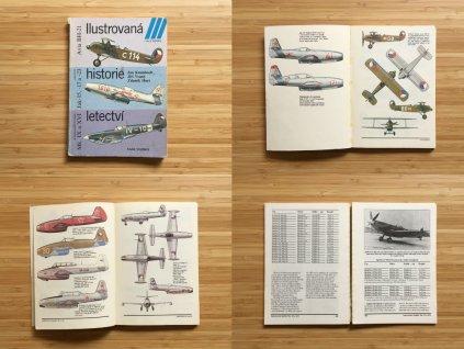 Ilustrovaná historie letectví: Avia BH-21; Jakovlev Jak-15, -17 a -23; Supermarine Spitfire Mk. IX a XVI (1986)