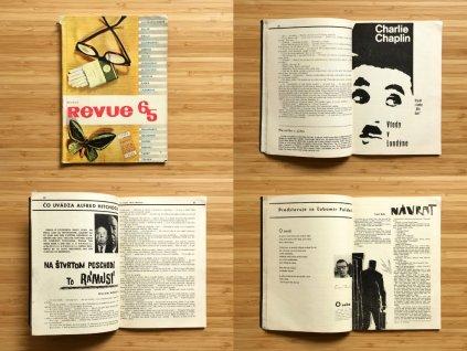 Knižné revue 1965 (Hemingway, Hitchcock, Kafka...)