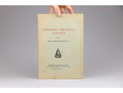 Litteraria Historica Slovaca, ročník I.-II. (1946-47)