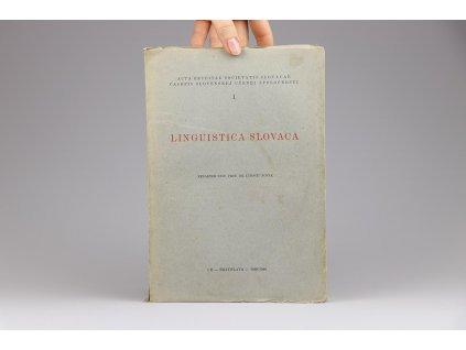 Linguistica Slovaca (1939-1940)