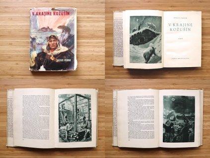 Július Verne - V krajine kožušín (1950)