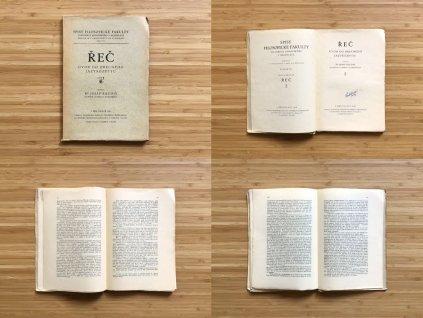 Josef Baudiš - Řeč: úvod do obecného jazykozpytu (1926)