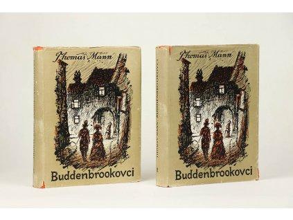 Thomas Mann - Buddenbrookovci I.-II. (1949)