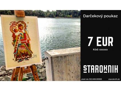 Darčekový poukaz 7 eur