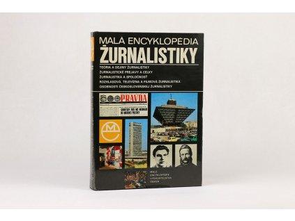 Malá encyklopédia žurnalistiky (1982)