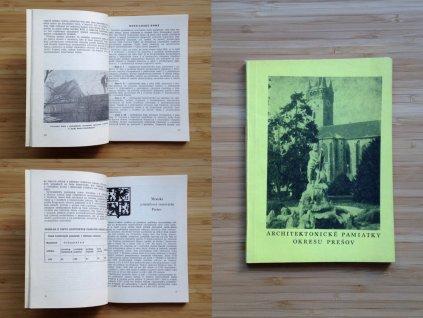 Eliáš Hruška a kol. - Architektonické pamiatky okresu Prešov (1976)